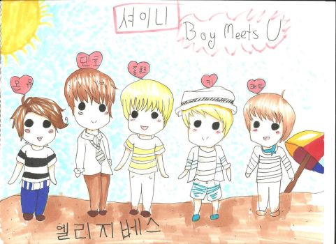 SHINee Boy Meets U by randomfangirl1