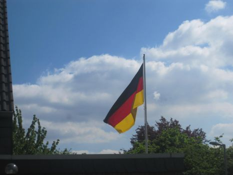 German National Flag, made by me by YulianEruannoNoldor