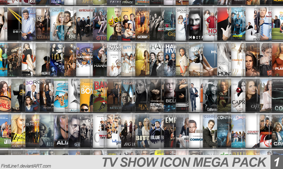 TV Show Icon Mega Pack 1 by FirstLine1