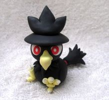 Murkrow Sculpture