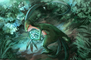 Temporal Thief by RileyKitty