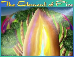 The Element of Fire Poster by StephenL