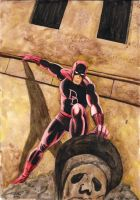 Here comes Daredevil ! by Lord-Makro