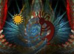 Kokopelli for Light and You by GypsyH