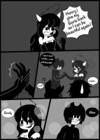 Bendy x Alice U don't need it (minicomic) by lolly-creepypasta