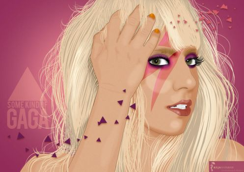 Some Kind Of Gaga by Zombieroom
