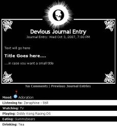 Death Note CSS - Full Page by Little-Vampire