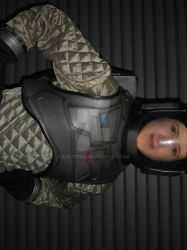 Front of Space suit by Evilted40