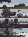 Industrial Set - Worldview, Sci-Fi Art Book by JamesLedgerConcepts