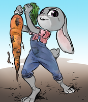 Carrot Farmer by GlacierClear