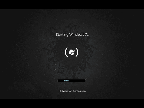 Windows 7 Startup by yanomami