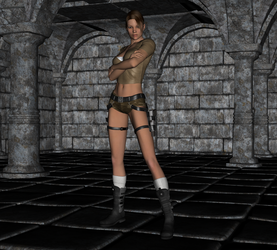 Tomb Raider - Lara Croft 2 by FatalHolds