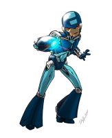 Re-Imagine Megaman by AlexDeB