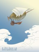 Dirigible by karenluk