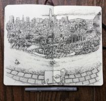 sketchbook - dolores park by keiross