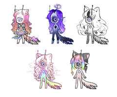 Xynslug and Slugoii ADOPTS CLOSED by Getanimated