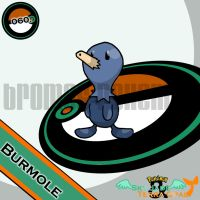 060. Burmole by bromos-pokemon