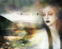 Morgan le Fay - Divas of the Legendary Times by FataMoira