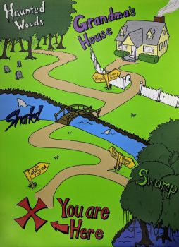 Map to Grandma's House for Bill Nye webisode by vytera