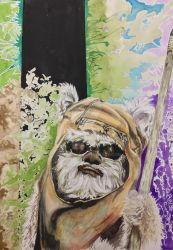 Ewok's psychedelic adventure  by courts94s