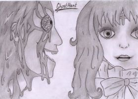 {GhostHunt} -Characters from two cases. by Hikikokana