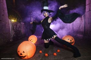 Soul Eater - Blair, Happy Halloween by vaxzone