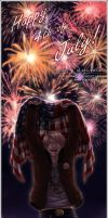 APH - 4th of July - by alatherna