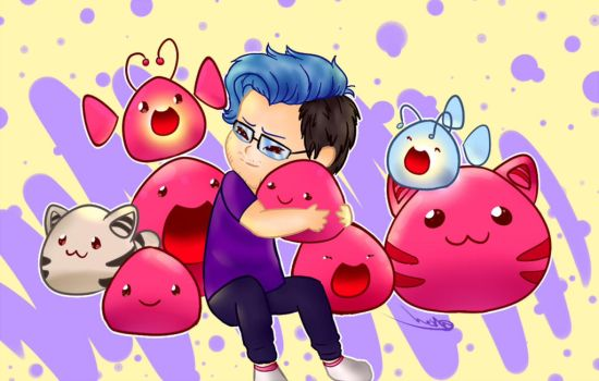 Slime Rancher.OH GOD IT'S SO CUTE!! by BOBOmato
