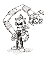 Sonictober - 22 - Robot by Sea-Salt