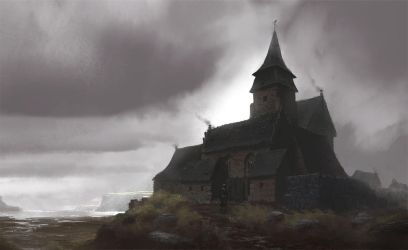 Old Monastery by PE-Travers