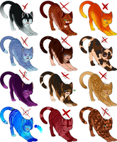 5 Point Adoptables  [CLOSED] by Tracing-the-Skye