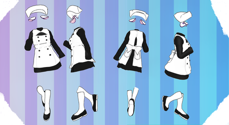 MMD Outfit 95 by MMD3DCGParts