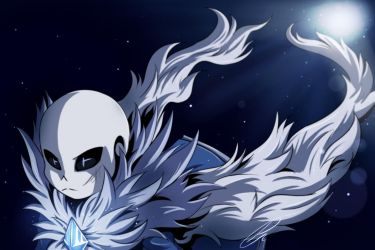 Abyss!Sans [Art Trade] by Jeyawue