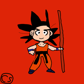Kid Goku by Sinclair5198