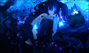 Embrace the Starlight - Black Rock Shooter Tag by TheIzaya