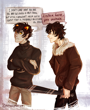 Karkat at his best by MadVanilia
