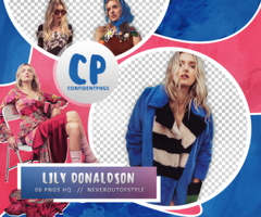 Png Pack 519 // Lily Donaldson by confidentpngs