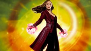 Scarlet Witch by watchall