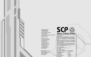 SCP Wallpaper by XxSoulHunterxX