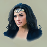 wonder woman study by MagicallyPernicious