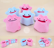 Ditto Beanies - New Design by SewYouPlushieThings