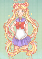 Sailor Moon by NeonPebble
