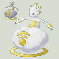 Fakemon Cloudrift by mssingno