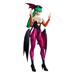Morrigan Stance by XClone42OO
