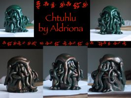 Cthulhu by Aldriona