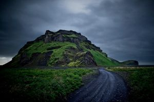 Iceland hills by rattodisabina