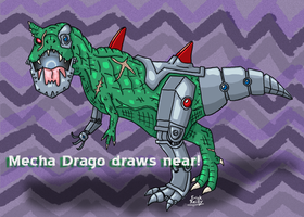 Mecha Drago by Erikku8