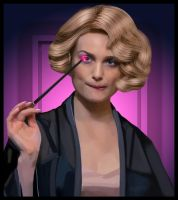 Alison Sudol as Queenie Goldstein by lianit