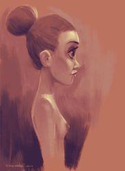Girl Profile by the-Tooninator