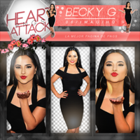 Pack PNG de Becky G. by iLightWonderful
